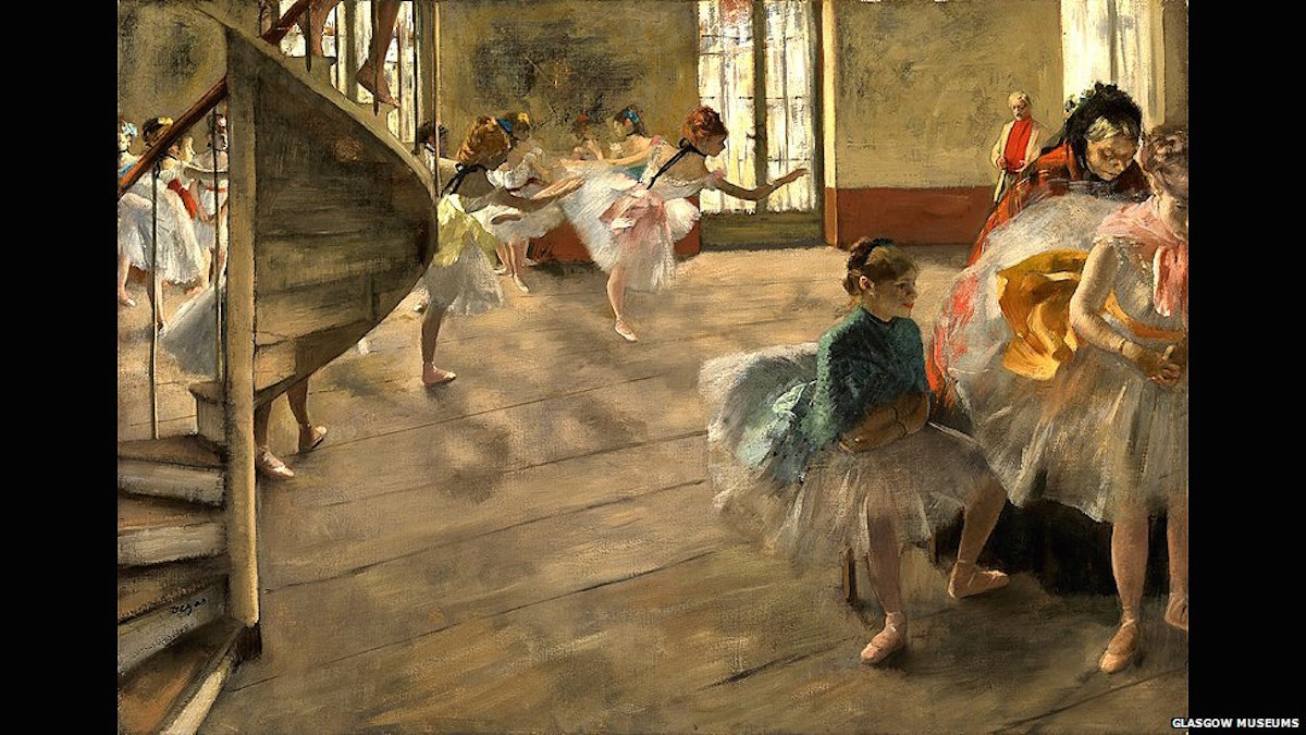 Edgar Degas Centenary Celebrated In New National Gallery