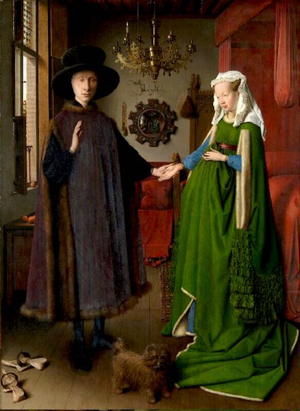 Jan van Eyck's Arnolfini Portrait