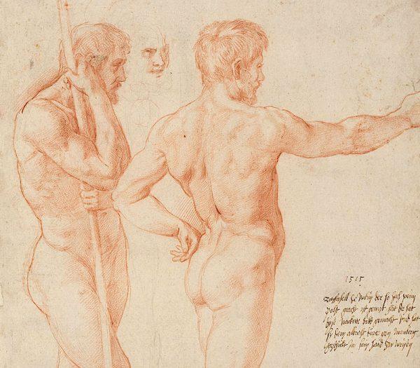 Raphael drawings , Ashmolean Museum