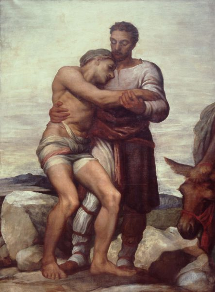 G F Watts The Good Samaritan