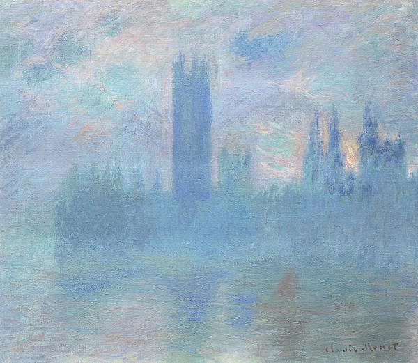 ​Claude Monet Houses of Parliament c.1900 Art Institute of Chicago (Chicago, USA)