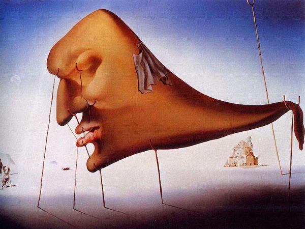 Le Sommeil (Sleep), 1937 by Salvador Dali