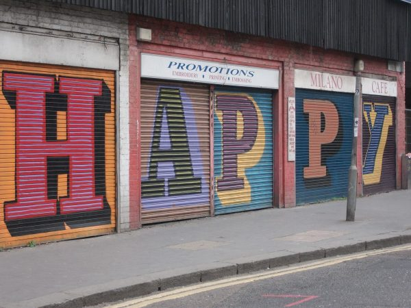 Ben Eine Happy, 2012 Petticoat Lane, London E1