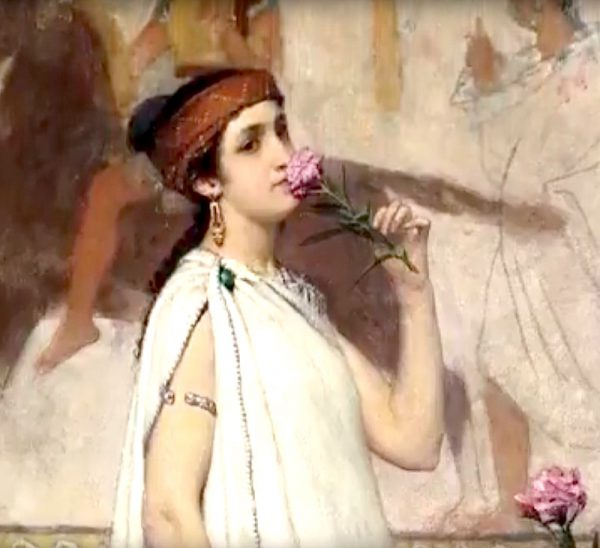 Alma Tadema Neo-Classical Dutch Genre Painting