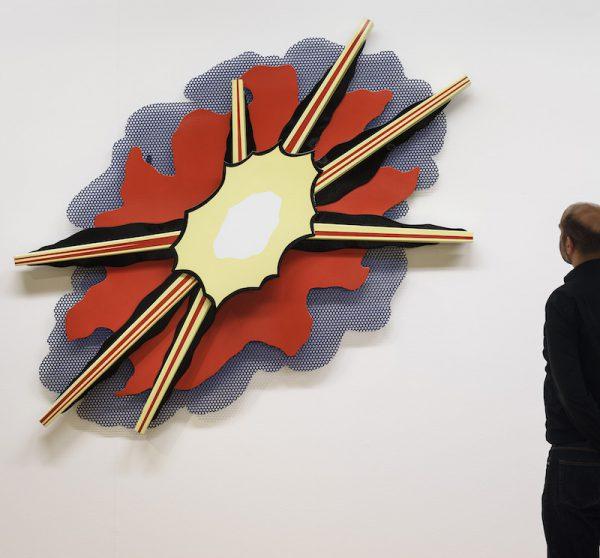 Wall Explosion II 1965 Roy Lichtenstein