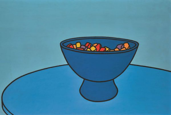 Patrick Caulfield, R.A., Sweet Bowl, 1966. Est: 300,000 GBP - 500,000 GBP. Courtesy Sotheby's.