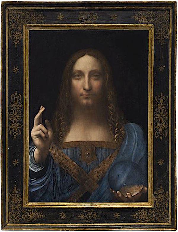 Leonardo's Salvator Mundi,