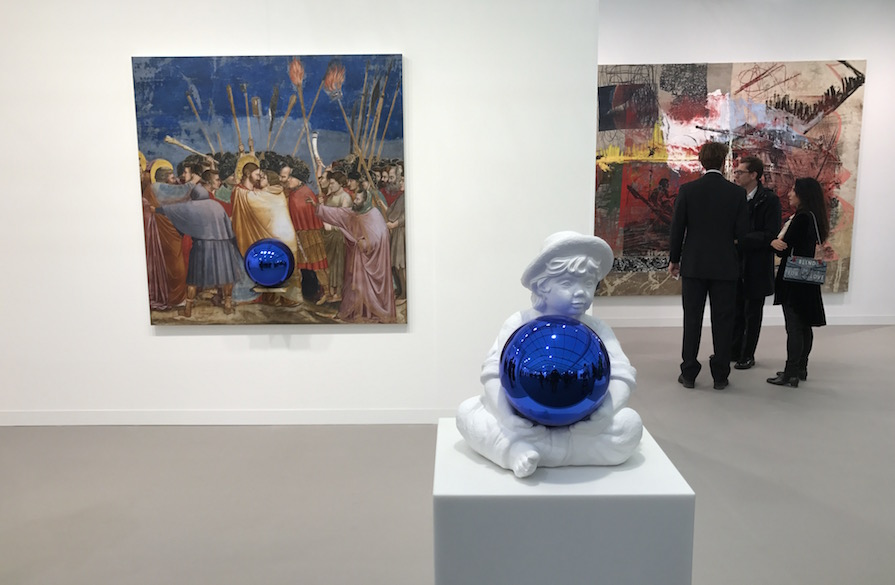Jeff Koons David Werner Gallery