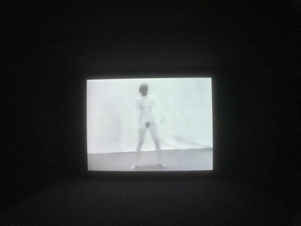 Marina Abramovic video from the mid-1970s