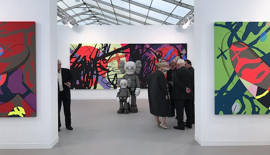 Kaws 2017 Perrotin Gallery