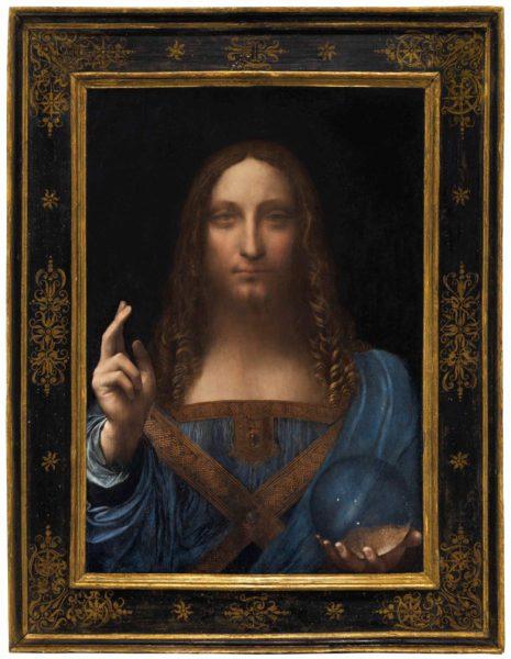 Leonardo da Vinci Salvator Mundi Christie's $450,312,500 Masterpiece