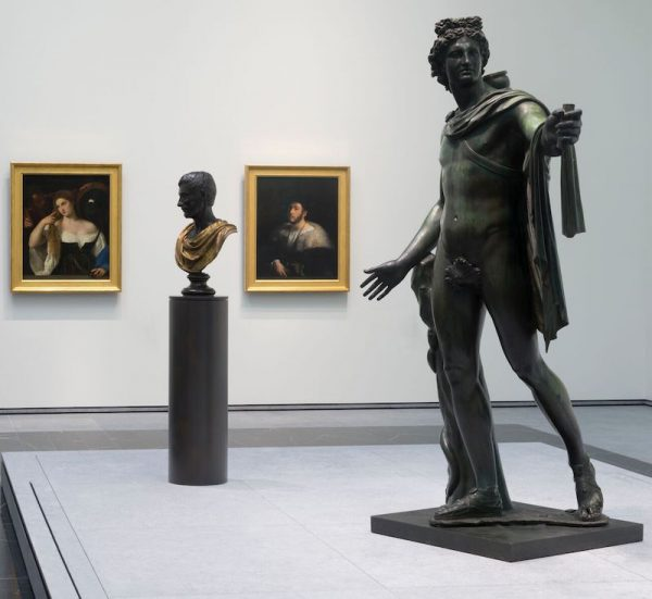 Classical Art on display at the Louvre Abu Dhabi