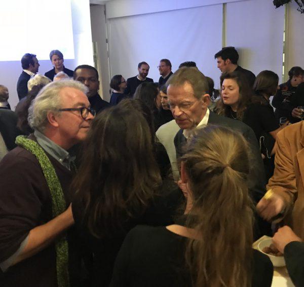 Nicholas Serota Attends Hamlyn Foundation Awards