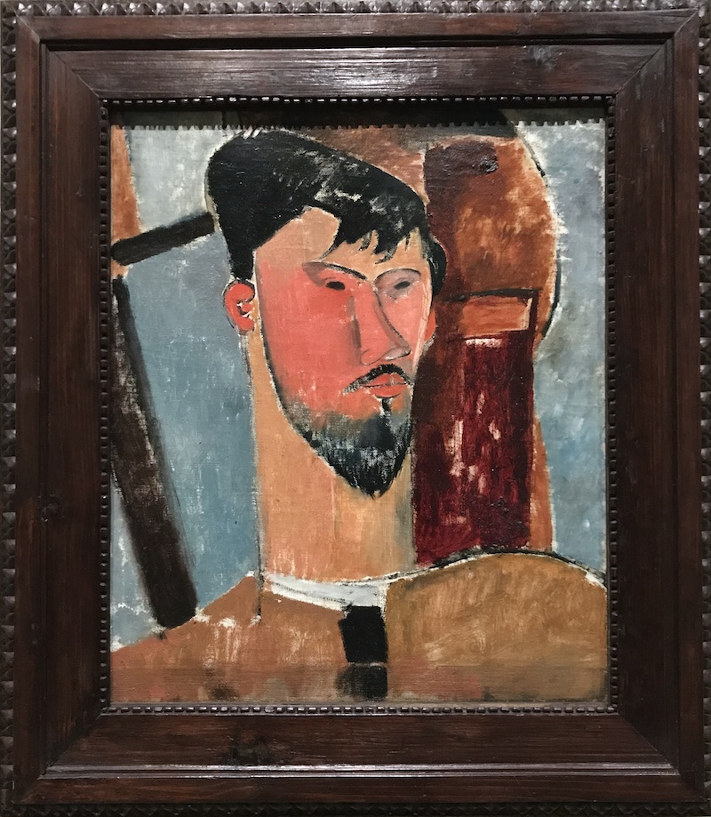 Modigliani Portrait of Henri Laurens 1915