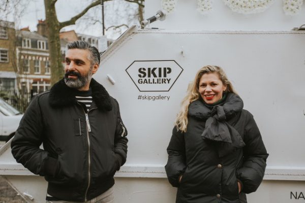 Skip Gallery Founders Catherine Borowski and Lee Baker.