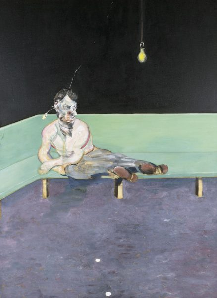 Important portrait of Lucian Freud by Francis Bacon Exhibited At Tate