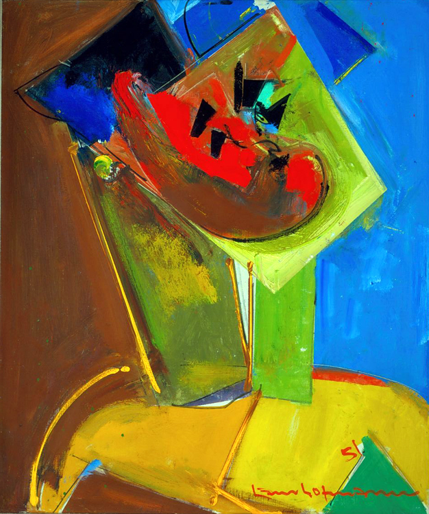 Recovered: Hans Hofmann Polynesian 1951