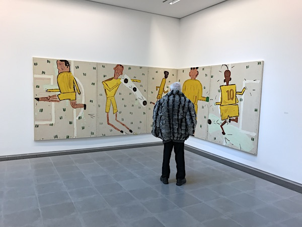 Rose Wylie Serpentine Gallery