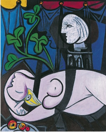 Picasso Nude Green Leaves and Bust 1932