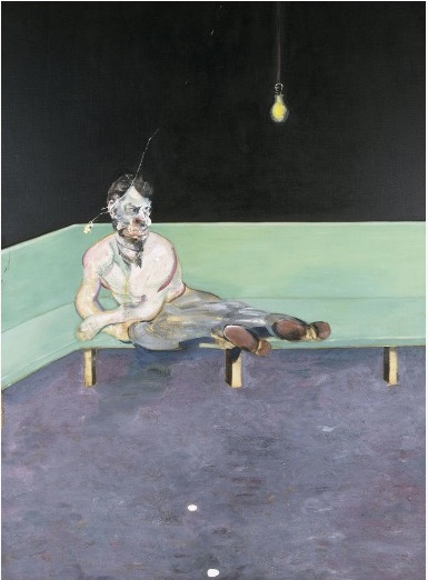 Francis Bacon Study for Portrait of Lucian Freud