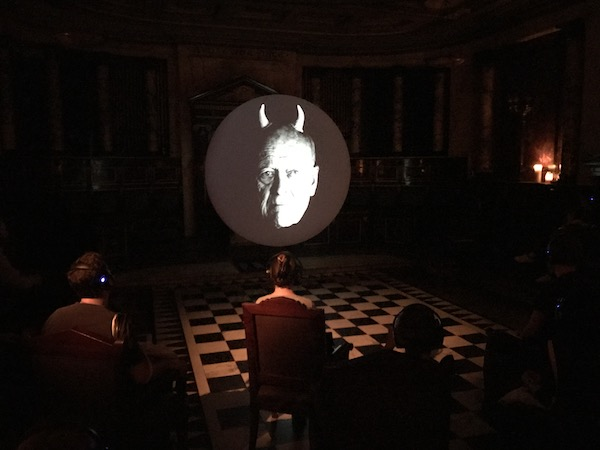 Lindsay Seers video installation inspired by occultist, Aleister Crowley