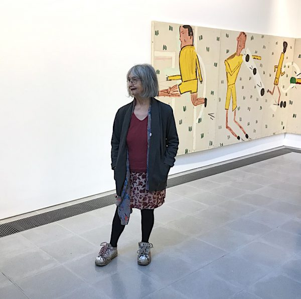 Rose Wylie Serpentine
