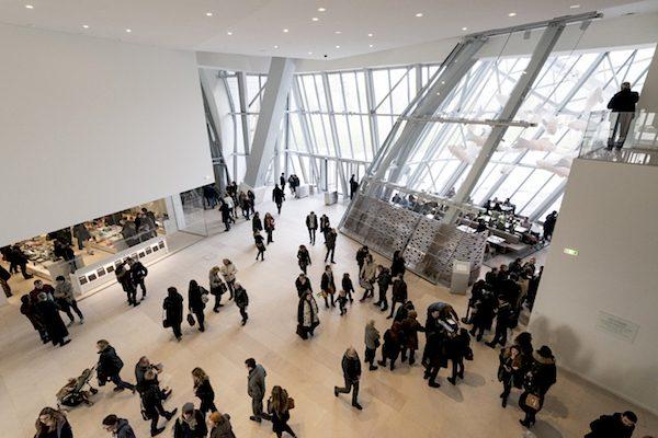 Fondation Louis Vuitton Interior