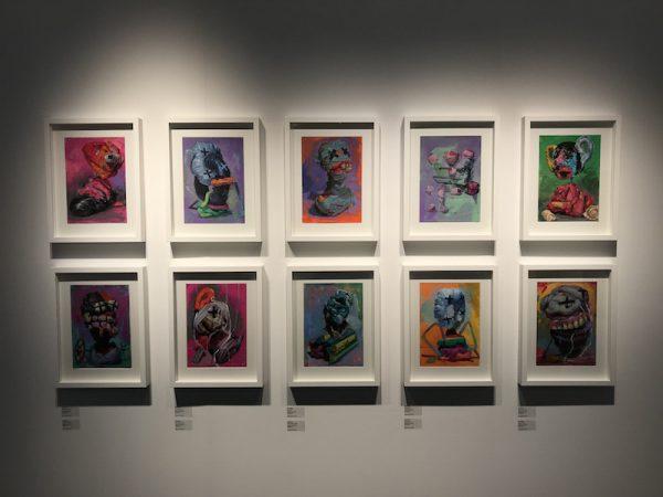 Jonny Green at Galerie Heike Strelow London Art Fair 2018