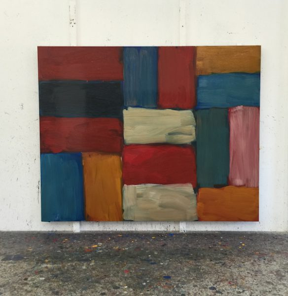 Sean Scully Studio Shot