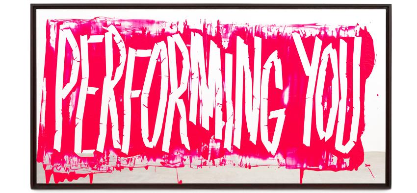 """""""Performing You"""" by Eddie Peake"""