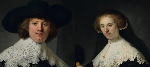 Rembrandt's Spectacular Wedding Portraits To Be Unveiled after Restoration in Rijksmuseum