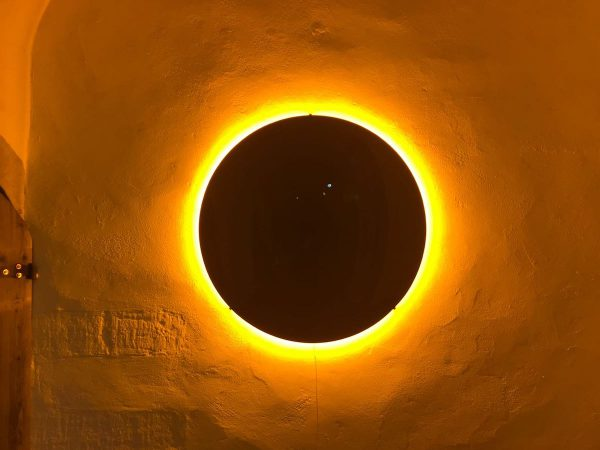 olafur Eliasson Black Glass Sun