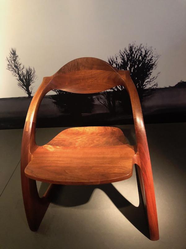 Wendell Castle Zephyr Chair, 1979, Galerie Le Beau