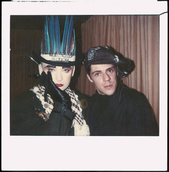 Boy George With Judy Blame c 1980s