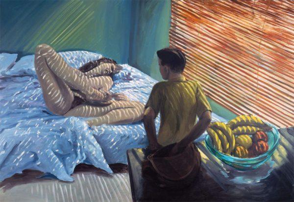 Eric Fischl's disturbing 'Bad Boy' 1981 - Perhaps his best known painting