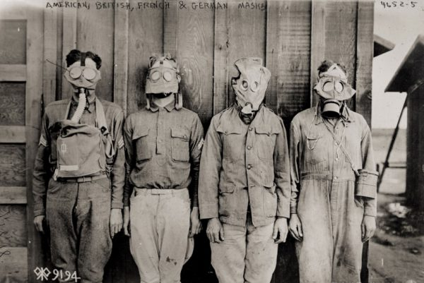 WWI Gasmasks