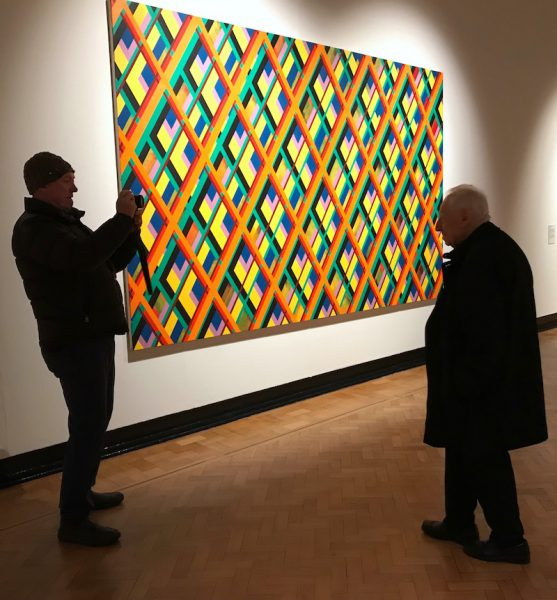 Sean Scully Meets Edward Lucie-Smith