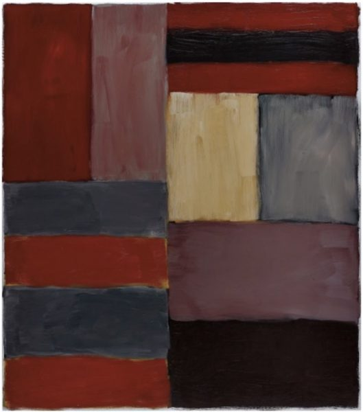 Sean Scully Grey Red
