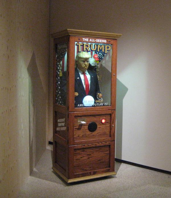 All-Seeing Trump Machine