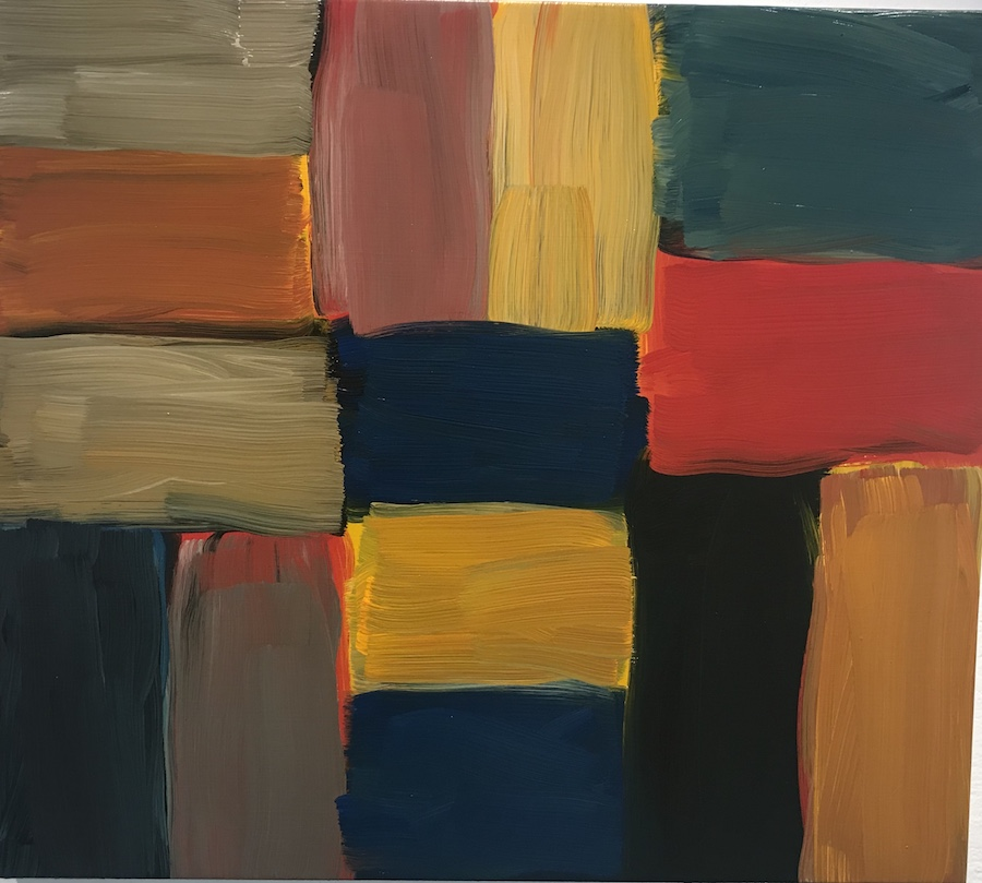 "Sean Scully exhibition ""Standing on the Edge of the World"" at the Hong Kong Art centre"