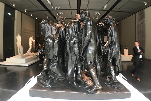 Rodin Burghers of Calais