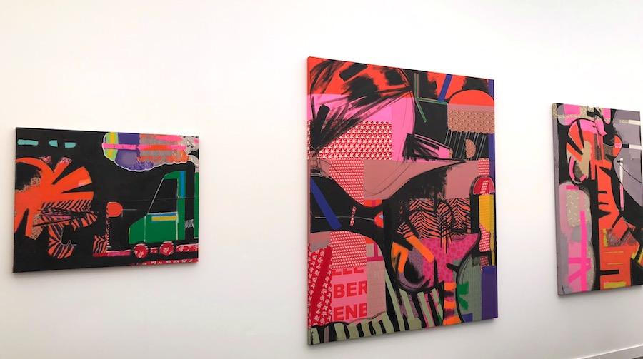 Colourful Paintings By Ellen Birkenblitt Anton Kern gallery.