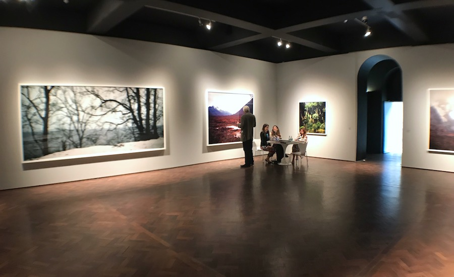 Darren Almond in the Studio Room Gallery