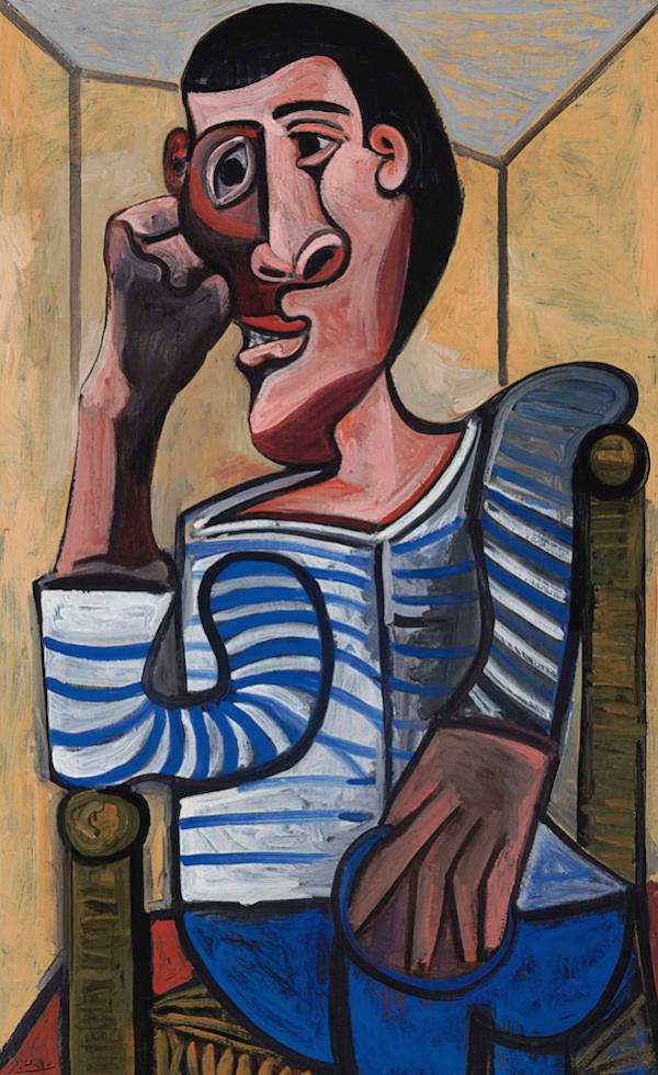 Pablo Picasso's Le Marin (The Sailor) 1943