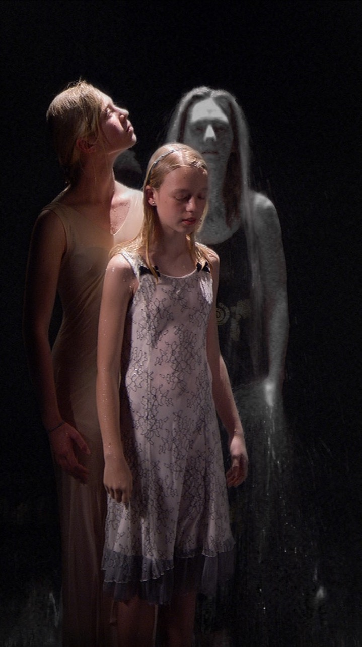 Bill Viola Three Women (2008)' at St Cuthbert's Edinburgh