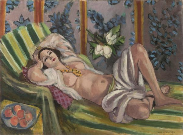 David Rockefeller Henri Matisse (1923), Monet's Nymphéas en fleur