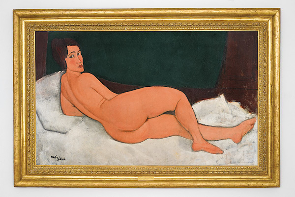 Amedeo Modigliani Nu couché