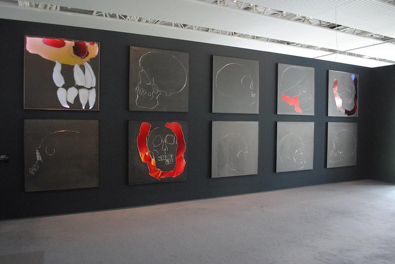 Brian Clarke, An Ordinary Man, 2007.Sainsbury Centre For Visual Arts.Photo: P A Black © 2018.