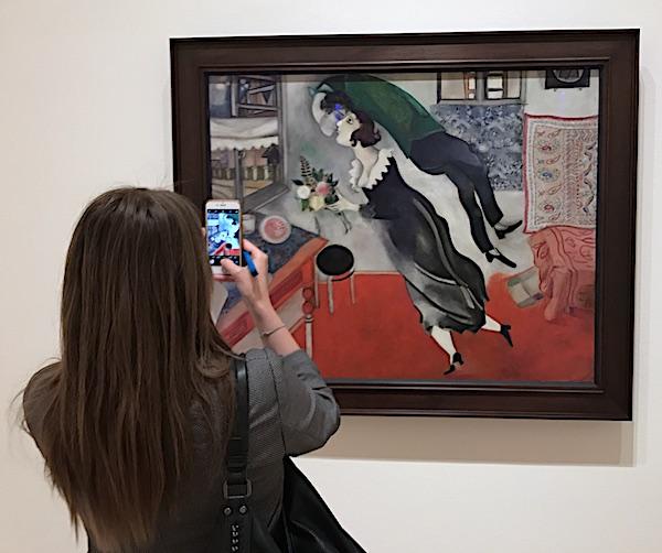 Marc Chagall The Birthday 1915