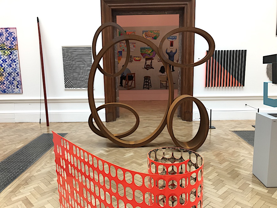 Conrad Shawcross Sculpture at RA Summer Exhibition 2018
